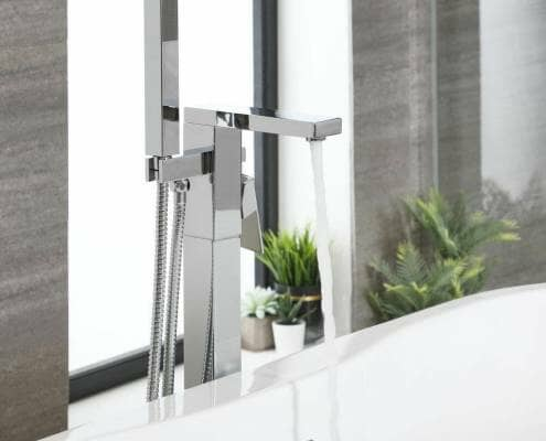 Milano Arvo freestanding bath mixer tap