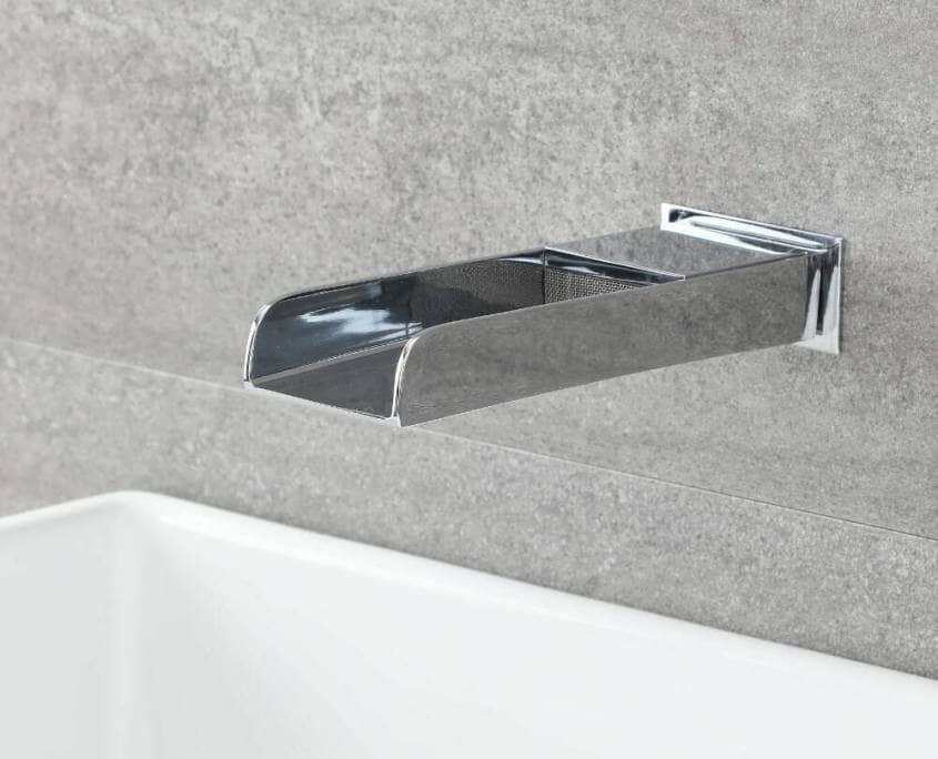 Milano Parade wall mounted bath filler tap