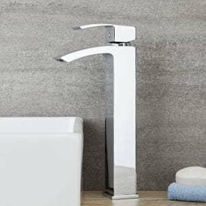 Chrome High rise tap