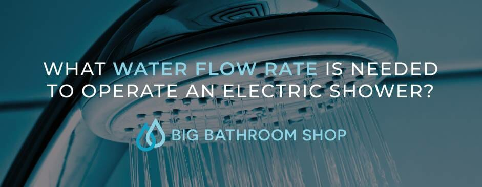 FAQ Header Image (What water flow rate is needed to operate an electric shower?)