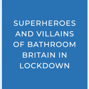 Superhero and supervillain blog banner