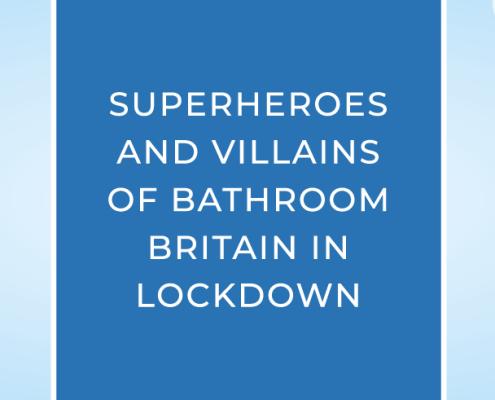Superhero and supervillain blog banner