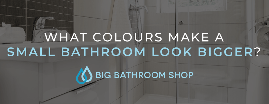 FAQ Header Image (What colours make a small bathroom look bigger?)