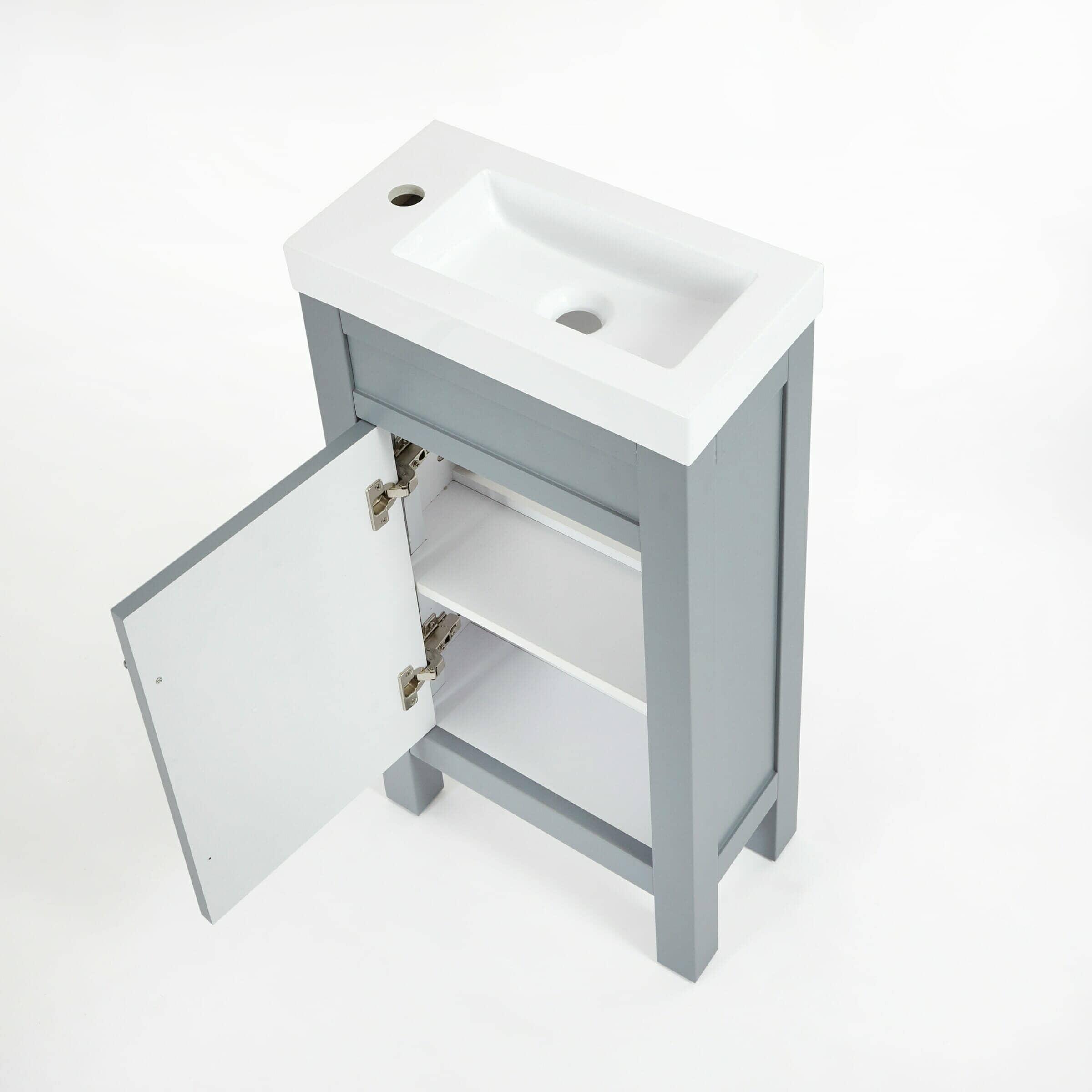 grey freestanding aston