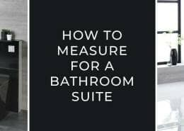 How to measure for a bathroom suite blog banner