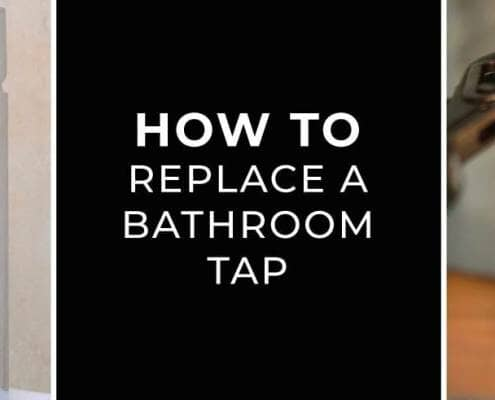 how to replace a bathroom tap?