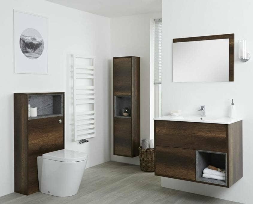 bathroom clutter