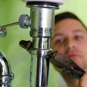 unscrew new bathroom tap