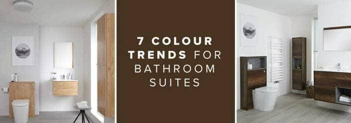 7 Colour Trends For Bathroom Suites blog banner