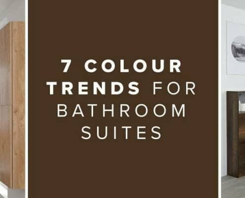 7 Colour Trends For Bathroom Suites blog banner