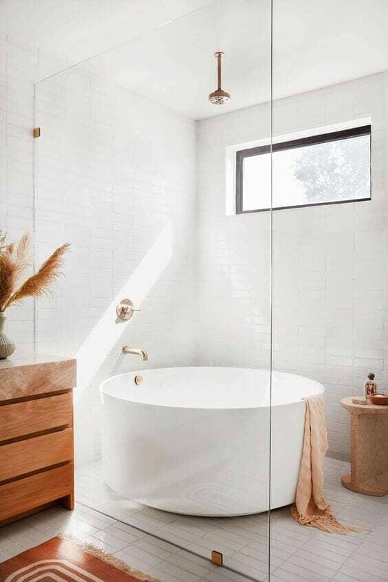 japandi bathroom interior