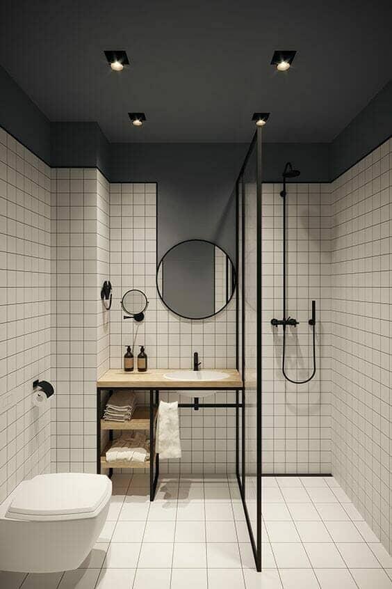 contemporary wetroom design