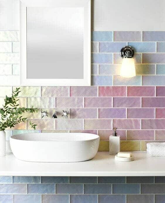 Unique colour modern tiles