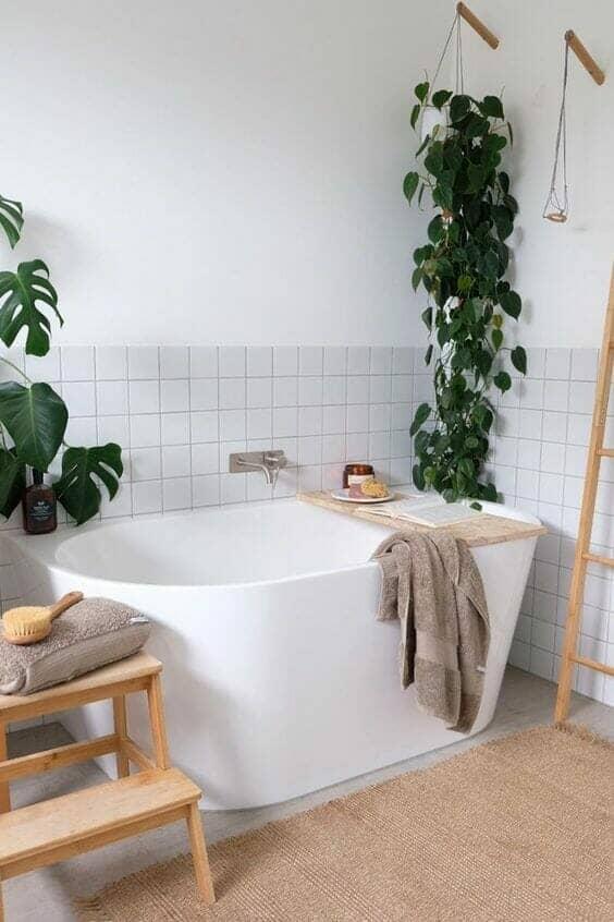 Contemporary organic bathroom ideas