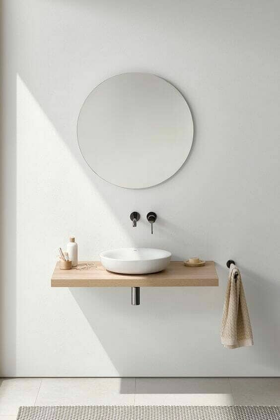 neutral contemporary bathroom suite