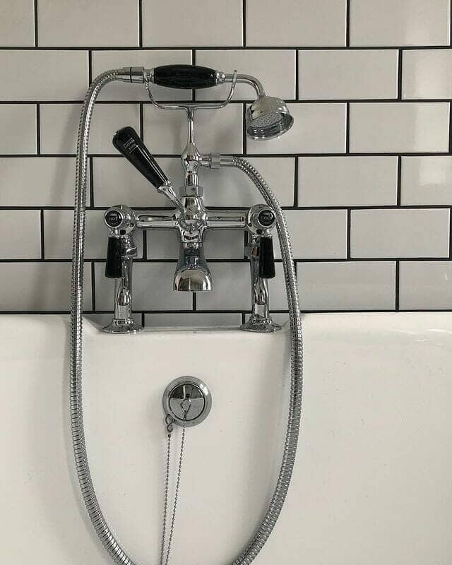 traditional mixer bath shower tap