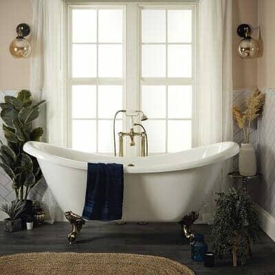 cottagcore bathroom decor