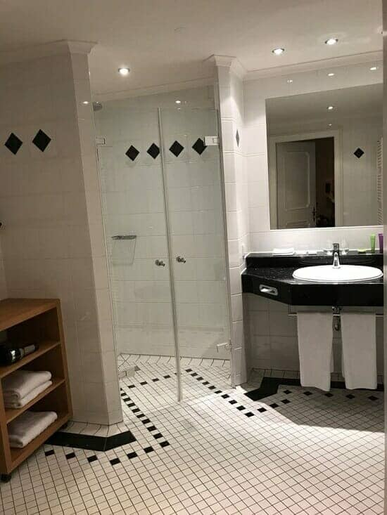 Hotel Bachmar Weissach, Germany bathroom overview