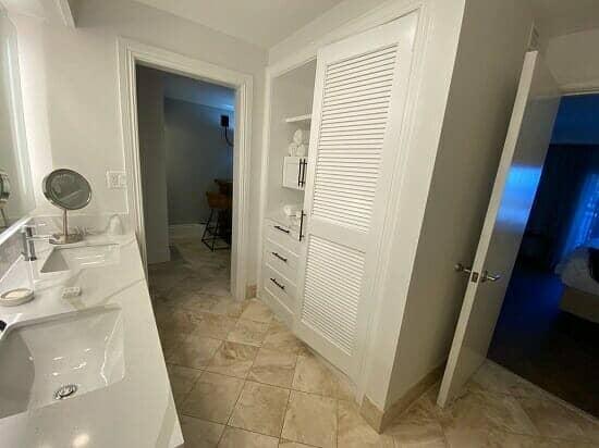 Barbary Beach House bathroom overview