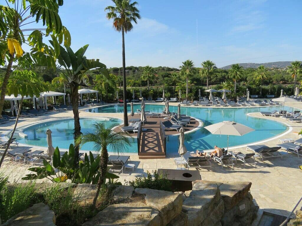 Conrad Algarve, Portugal exterior pool