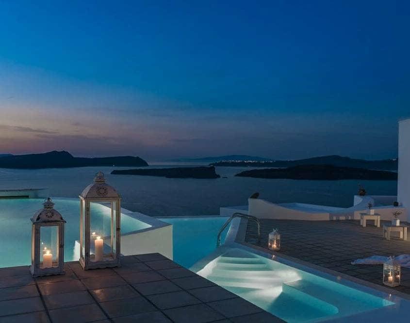 Apanemo Greece infinity pool