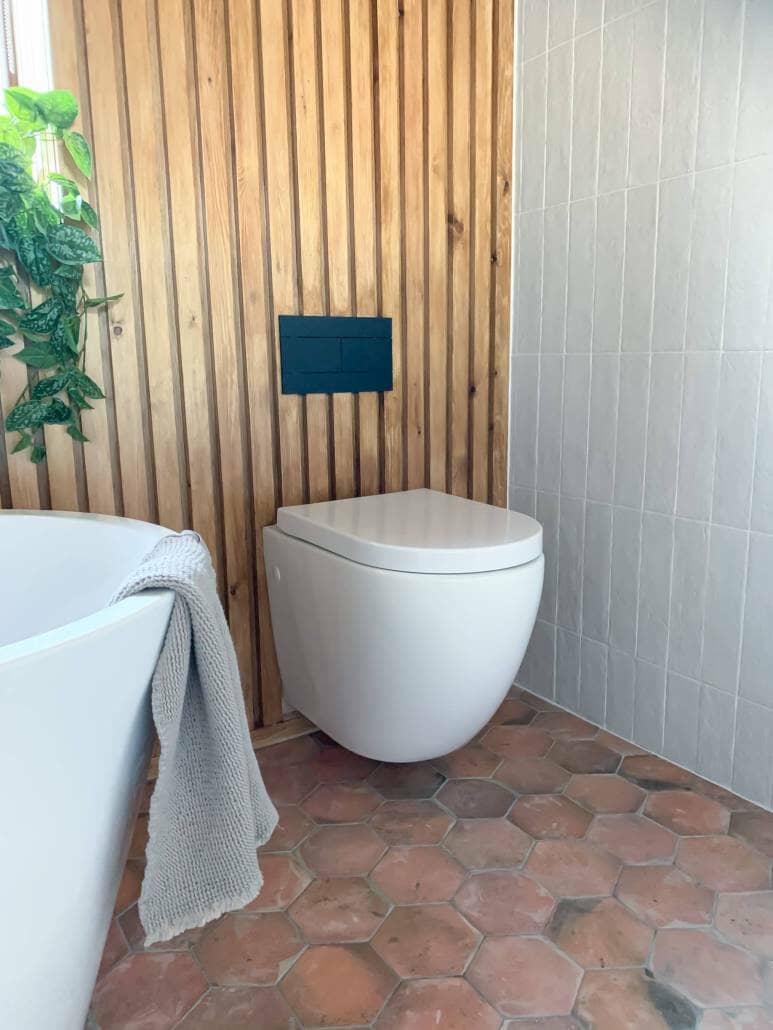 hidden plumbing in wall hung toilets