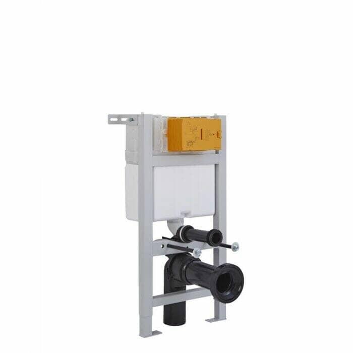 Short frame cistern