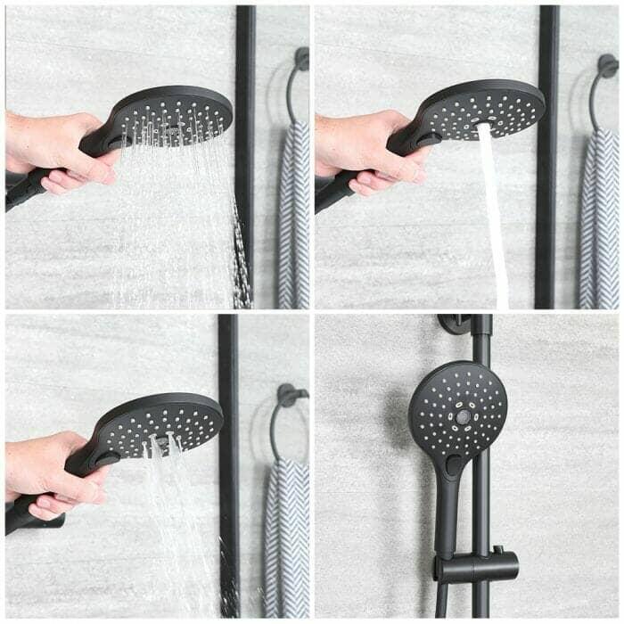 Nero mutli-function hand shower