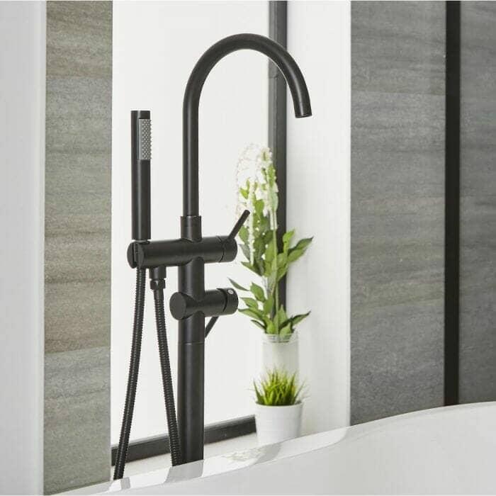 Modern Freestanding Bath Shower Mixer Tap