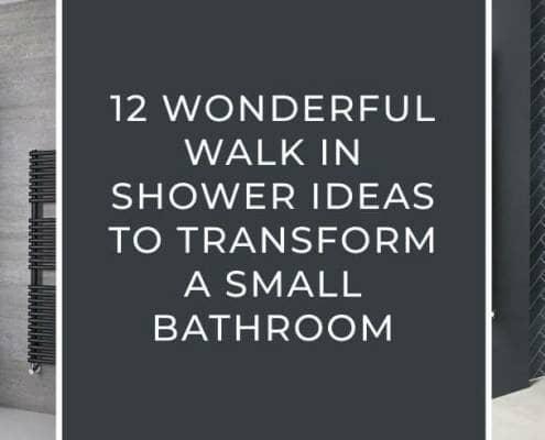 Walk In Shower Ideas For A Small Bathroom blog banner