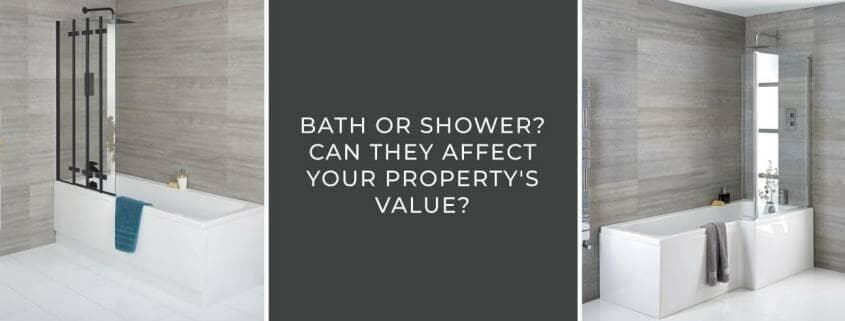 Bath or Shower Property Value blog banner