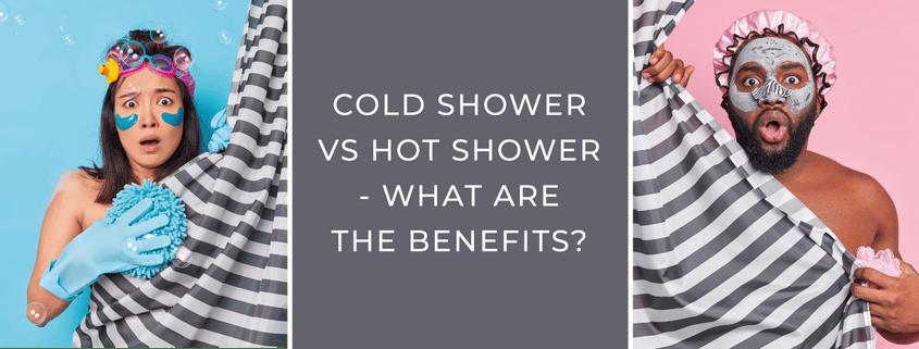 Cold Shower vs Hot Shower blog banner