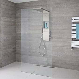Milano Vaso Complete Wet Room Shower Enclosure w/ Shower Tower