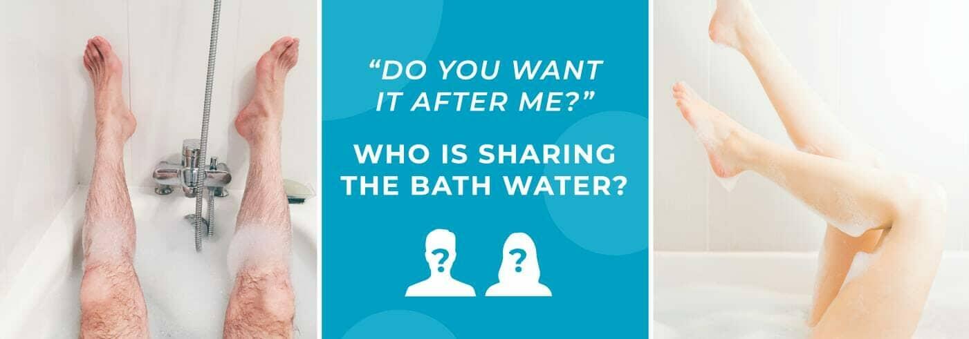 Sharing bath water blog banner