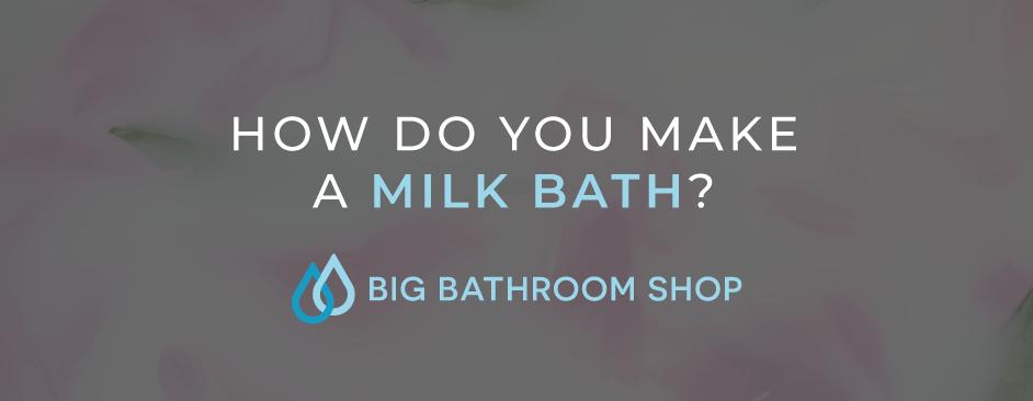 FAQ Header Image (How do you make a milk bath?)
