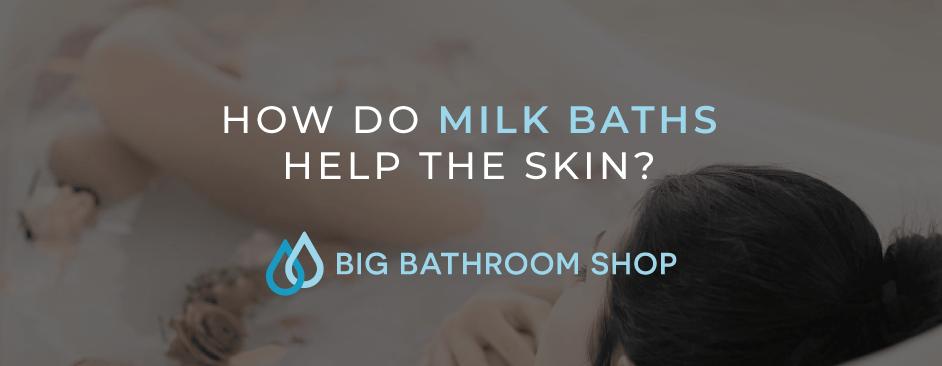 FAQ Header Image (How do milk baths help the skin?)