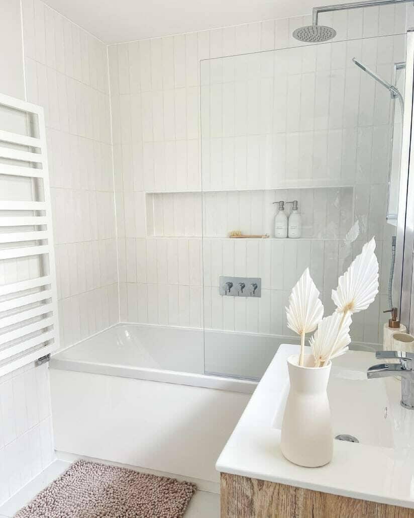 nieuwe doucheruimte