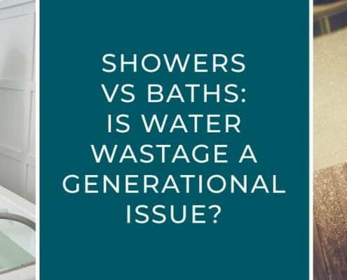 Showers vs baths: is water wastage a generational issue blog banner
