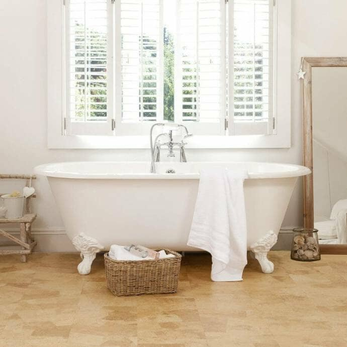 Eco-friendly Cork Floor - Image from Ideal Home