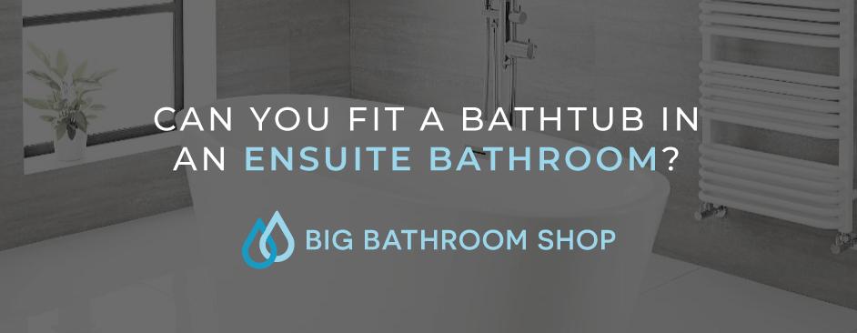 FAQ Header Image (Can you fit a bathtub in an ensuite bathroom?)