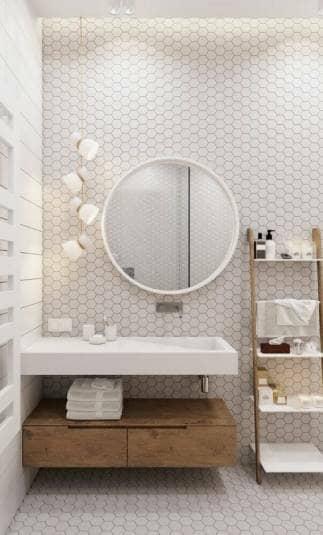 Danish, scandinavian bathroom