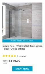 Nero Wetroom Screen
