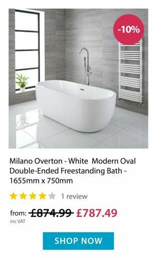 Milano Overton - Freestanding Bath